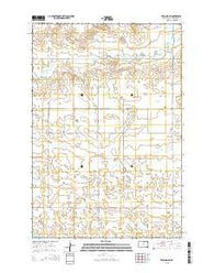 Zeeland SW South Dakota Current topographic map, 1:24000 scale, 7.5 X 7.5 Minute, Year 2015