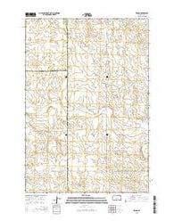 Zeona South Dakota Current topographic map, 1:24000 scale, 7.5 X 7.5 Minute, Year 2015