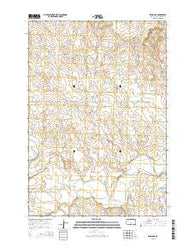 Zeona NE South Dakota Current topographic map, 1:24000 scale, 7.5 X 7.5 Minute, Year 2015