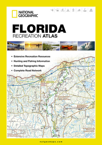Buy map Florida Recreation Atlas by National Geographic Maps