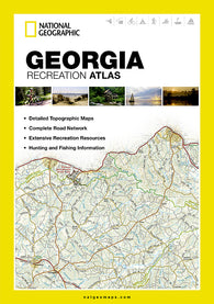 Buy map Georgia Recreation Atlas by National Geographic Maps
