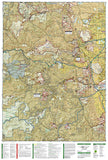 Boulder and Golden, Colorado, Map 100 by National Geographic Maps - Back of map