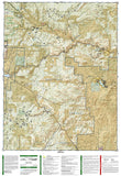 Cache La Poudre and Big Thompson, Colorado, Map 101 by National Geographic Maps - Back of map