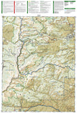 Winter Park, Central City and Rollins Pass, Colorado, Map 103 by National Geographic Maps - Back of map