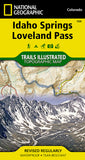 Buy map Idaho Springs, Georgetown and Loveland Pass, Colorado, Map 104 by National Geographic Maps