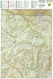 Tarryall Mountains and Kenosha Pass, Map 105 by National Geographic Maps - Back of map