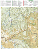 Kremmling and Granby, Colorado, Map 106 by National Geographic Maps - Back of map