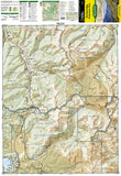 Breckenridge and Tennessee Pass, Colorado, Map 109 by National Geographic Maps - Front of map