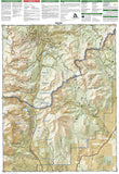 Breckenridge and Tennessee Pass, Colorado, Map 109 by National Geographic Maps - Back of map