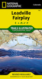 Buy map Leadville and Fairplay, Colorado, Map 110 by National Geographic Maps