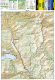 Leadville and Fairplay, Colorado, Map 110 by National Geographic Maps - Front of map