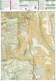 Leadville and Fairplay, Colorado, Map 110 by National Geographic Maps - Back of map