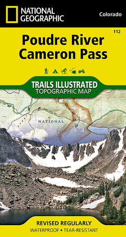 Buy map Poudre River and Cameron Pass, Colorado, Map 112 by National Geographic Maps