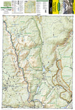 Poudre River and Cameron Pass, Colorado, Map 112 by National Geographic Maps - Front of map