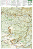 Poudre River and Cameron Pass, Colorado, Map 112 by National Geographic Maps - Back of map