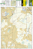 Walden and Gould, Colorado, Map 114 by National Geographic Maps - Front of map