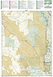 Walden and Gould, Colorado, Map 114 by National Geographic Maps - Back of map