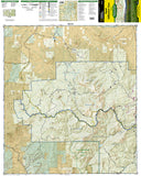 Rand and Stillwater Pass, Map 115 by National Geographic Maps - Front of map