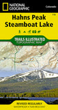 Buy map Hahns Peak and Steamboat Lake, Map 116 by National Geographic Maps