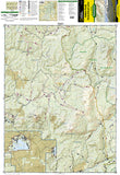 Hahns Peak and Steamboat Lake, Map 116 by National Geographic Maps - Front of map