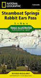 Buy map Steamboat Springs and Rabbit Ears Pass, Colorado, Map 118 by National Geographic Maps