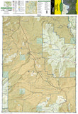 Yampa, Gore Pass, Colorado (119) by National Geographic Maps - Front of map