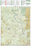 Yampa, Gore Pass, Colorado (119) by National Geographic Maps - Back of map