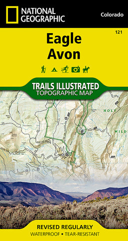 Buy map Eagle and Avon, Colorado, Map 121 by National Geographic Maps