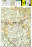 Eagle and Avon, Colorado, Map 121 by National Geographic Maps - Front of map
