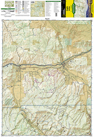 Buy Map Eagle And Avon Colorado Map 121 By National Geographic