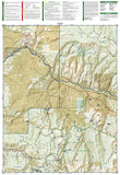 Eagle and Avon, Colorado, Map 121 by National Geographic Maps - Back of map