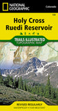 Buy map Holy Cross and Reudi Reservoir, Map 126 by National Geographic Maps