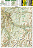 Aspen, Independence Pass, Colorado by National Geographic Maps - Front of map
