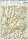 Aspen, Independence Pass, Colorado by National Geographic Maps - Back of map
