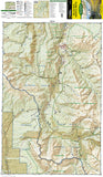 Maroon Bells, Redstone and Marble, Colorado, Map 128 by National Geographic Maps - Front of map