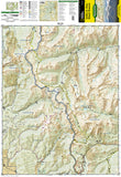 Salida, St. Elmo and Mount Shavano, Colorado, Map 130 by National Geographic Maps - Front of map