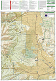 Salida, St. Elmo and Mount Shavano, Colorado, Map 130 by National Geographic Maps - Back of map