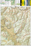 Crested Butte and Pearl Pass, Colorado by National Geographic Maps - Front of map
