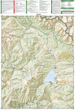 Crested Butte and Pearl Pass, Colorado by National Geographic Maps - Back of map