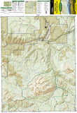 Kebler Pass and Paonia Reservoir, Colorado, Map 133 by National Geographic Maps - Front of map