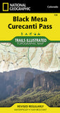 Buy map Black Mesa and Curecanti Pass, Colorado, Map 134 by National Geographic Maps