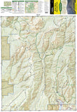 Black Mesa and Curecanti Pass, Colorado, Map 134 by National Geographic Maps - Front of map