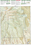 Black Mesa and Curecanti Pass, Colorado, Map 134 by National Geographic Maps - Back of map