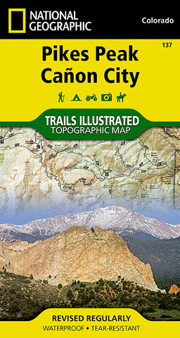 Buy map Pikes Peak and Canon City, Colorado, Map 137 by National Geographic Maps