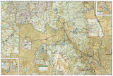 Pikes Peak and Canon City, Colorado, Map 137 by National Geographic Maps - Back of map