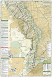 Sangre De Cristo Mountains and Great Sand Dunes National Park, Map 138 by National Geographic Maps - Back of map