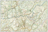 La Garita and Cochetopa Hills, Map 139 by National Geographic Maps - Back of map