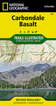 Buy map Carbondale Basalt, Colorado, Map 143 by National Geographic Maps