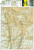 Carbondale Basalt, Colorado, Map 143 by National Geographic Maps - Front of map