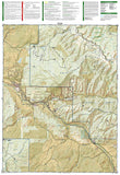 Carbondale Basalt, Colorado, Map 143 by National Geographic Maps - Back of map